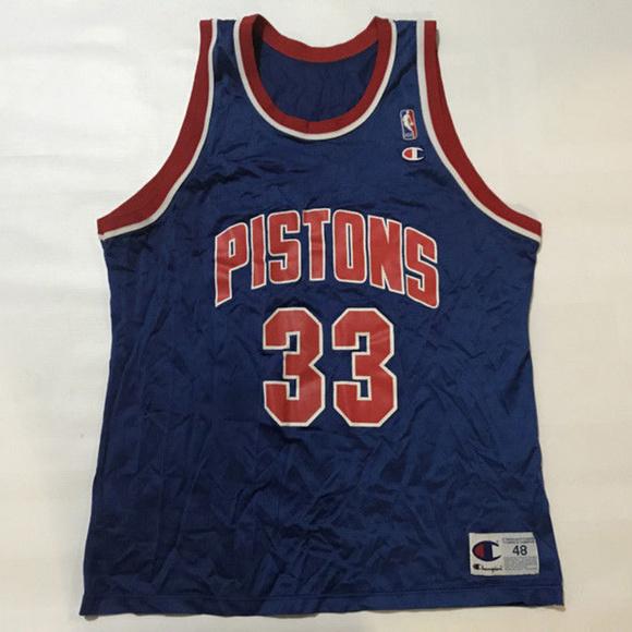 CHAMPION Other - Vintage Champion Detroit Pistons Grant Hill JERSEY d78ac0dd2